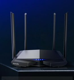 Tenda AC6 Wifi Router Nirkabel Dual-band Specially Design for a 100-mega Optical Home