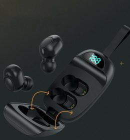 Headset Bluetooth JS25 TWS Penutup Shell